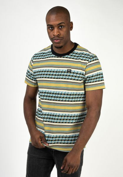HUF T-Shirts Bedford warmbeige vorderansicht 0323024