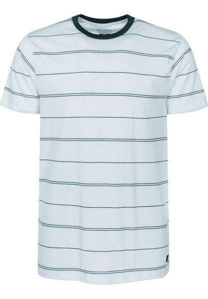 Billabong T-Shirts Die Cut skyblue Vorderansicht