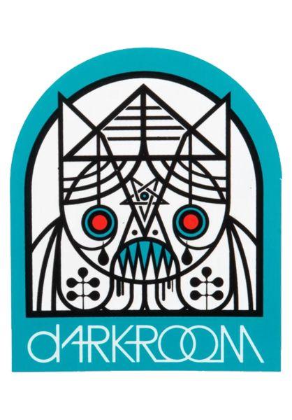 Darkroom Verschiedenes Doomrat Sticker white vorderansicht 0972183