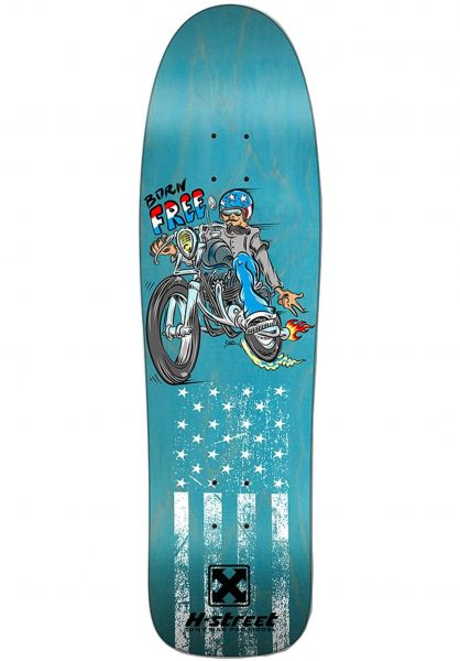 H-Street Skateboard Decks Tony Mag Born Free Caballero Art Supreme Concave dyed-wood vorderansicht 0262833