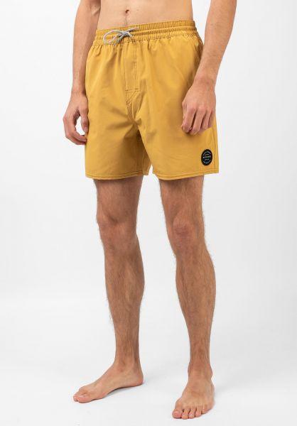 Rip Curl Beachwear Daily 16´´ mustard vorderansicht 0205385