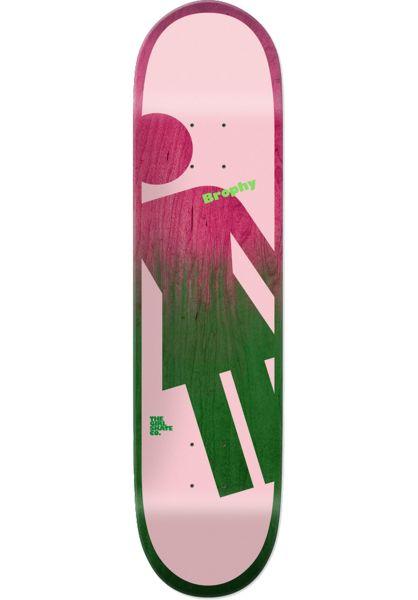Girl Skateboard Decks Brophy OG Tilt A Girl multicolored vorderansicht 0261749