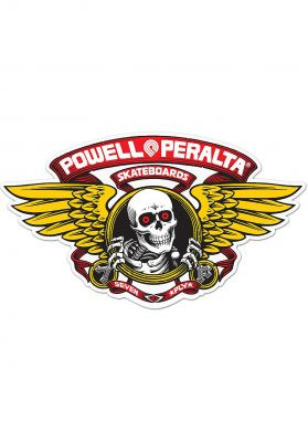 "Powell-Peralta Winged Ripper 12"" Die-Cut Sticker"