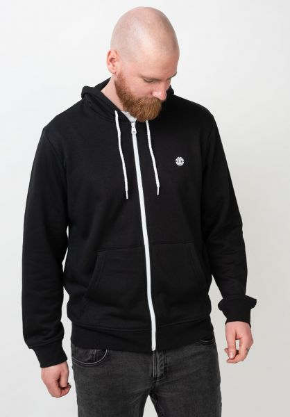 Element Zip-Hoodies Cornell flintblack-white vorderansicht 0454129