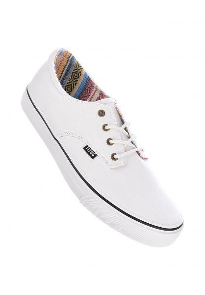 TITUS Alle Schuhe Clubman Women white-multi-white vorderansicht 0612519