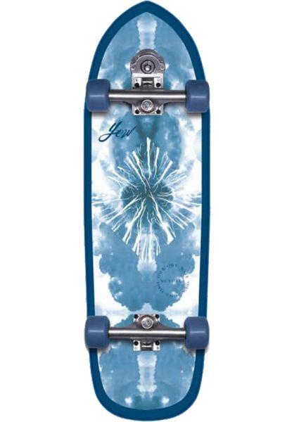 """YOW Cruiser komplett Mundaka 32"""" Power Surfing Surfskate blue vorderansicht 0252689"""