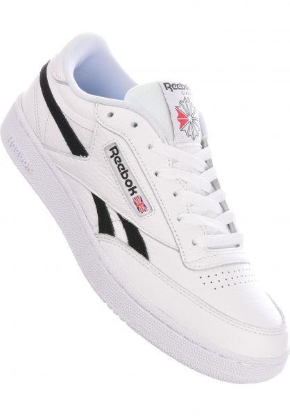 Reebok Alle Schuhe Club C Revenge MU white-black-black vorderansicht 0604758
