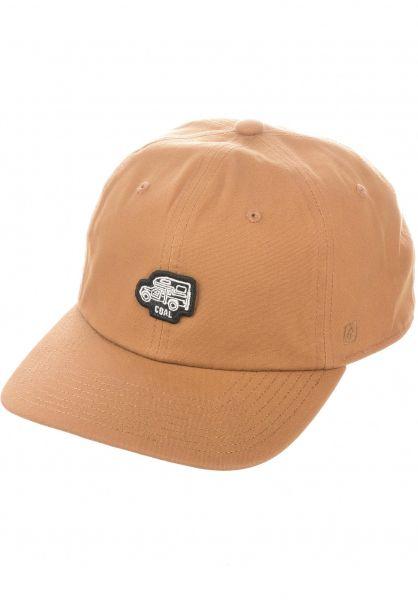 coal Caps The Junior lightbrown vorderansicht 0565194