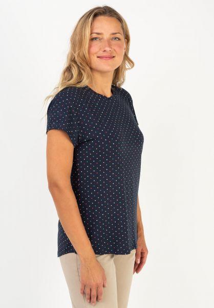 alife and kickin T-Shirts Mimmy marine-AOP 320 vorderansicht 0320759