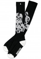 Rockasox-Socken-Mountain-Of-Doom-black-white-Vorderansicht