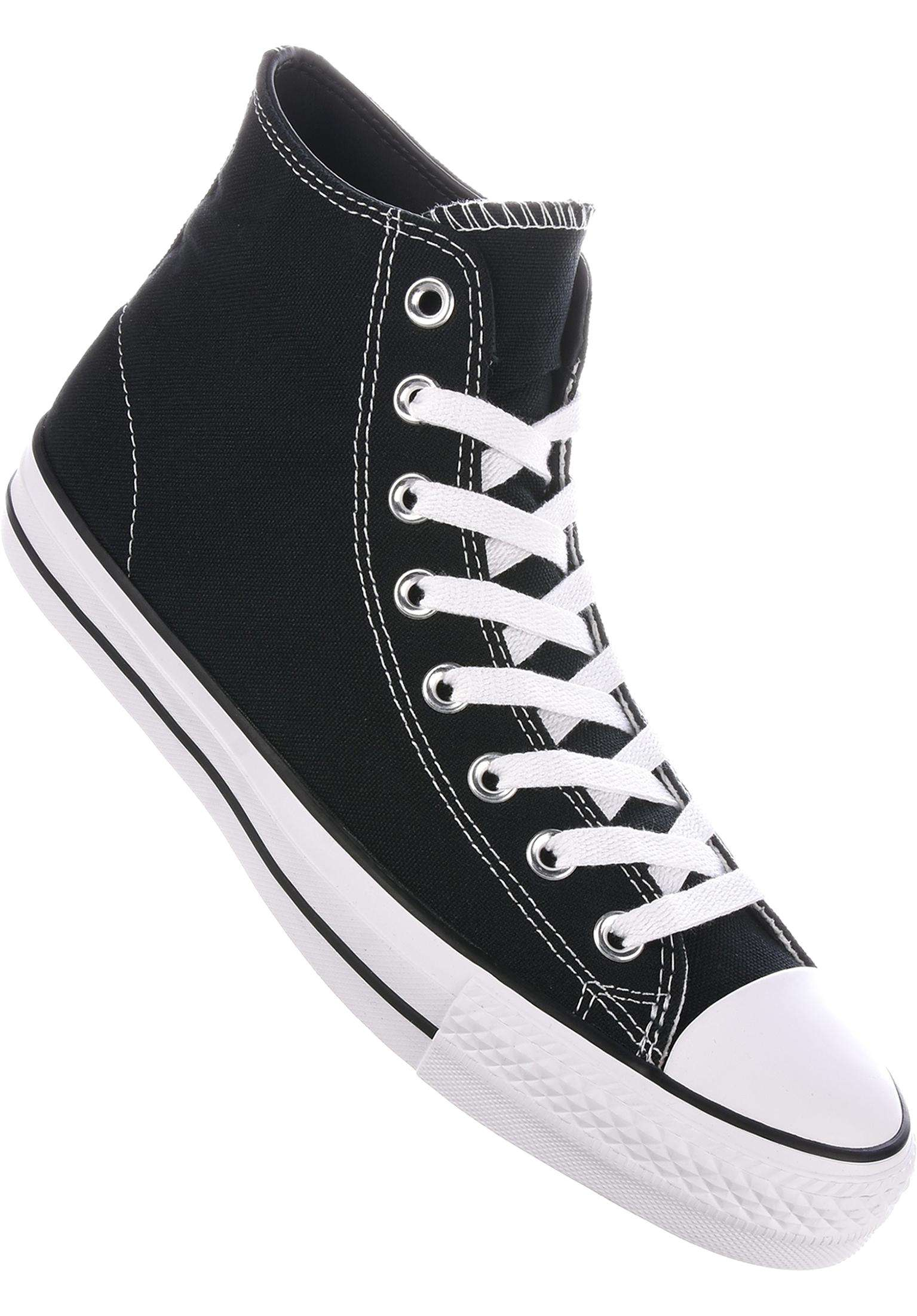 bce772c8ed42 CTAS Pro Hi Converse CONS All Shoes in black-black-white for Men