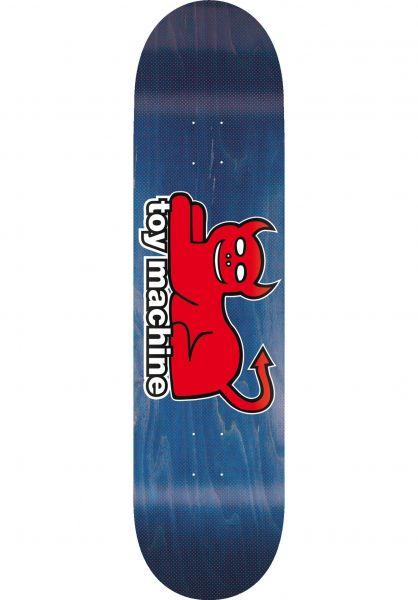 Toy-Machine Skateboard Decks Devil Cat 2018 natural vorderansicht 0260486