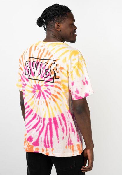 RVCA T-Shirts Swerve pinkhaze vorderansicht 0321838