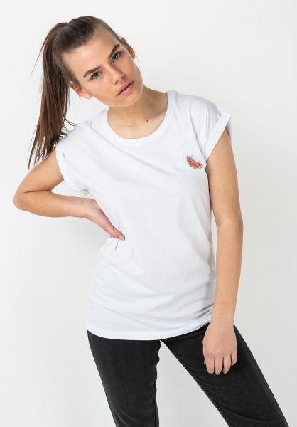 Ezekiel T-Shirts Melon white vorderansicht 0322325