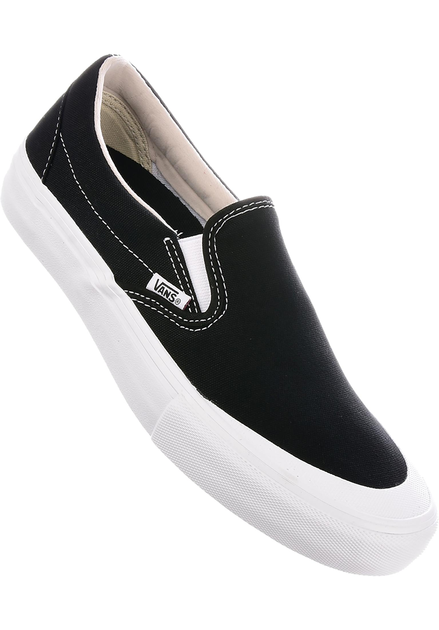 30e0ba22e82 Slip-On Pro Vans All Shoes in black-white-toecap for Men