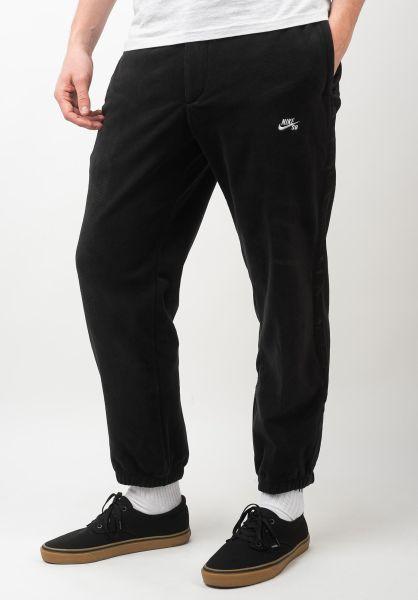 Nike SB Jogginghosen Novelty Fleece Pant black vorderansicht 0680243