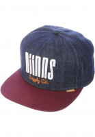 Djinns Caps 6P SB Denim 3.0 darkindigo-wine Vorderansicht