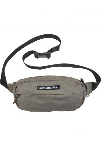 Cleptomanicx Hip-Bags Tap S dustyolive vorderansicht 0169173
