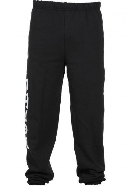Thrasher Jogginghosen Skate and Destroy black vorderansicht 0520819