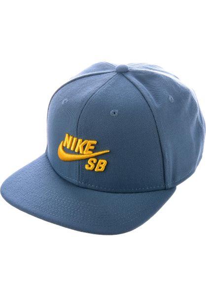 Nike SB Caps SB Icon Snapback thunderstorm-yellow vorderansicht 0562269 3aa4bea7a971