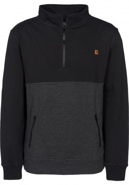 TITUS Sweatshirts und Pullover Mojo darkgreymottled-black Vorderansicht