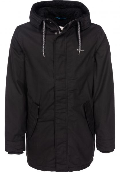 Ragwear Winterjacken Mr. Smith black vorderansicht 0250027