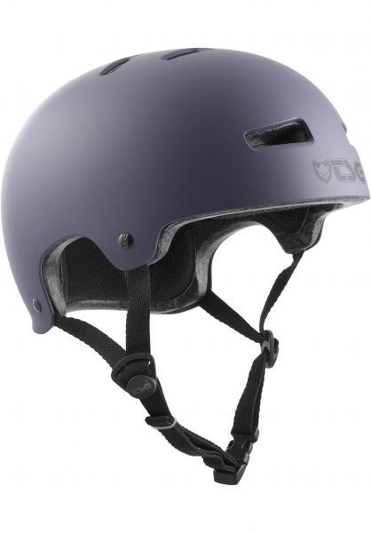 TSG Helme Evolution Solid Colors satin lavandula vorderansicht 0075046