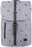 Spiral Rucksäcke Tribeca bird-crosshatch-charcoal Vorderansicht 0880872