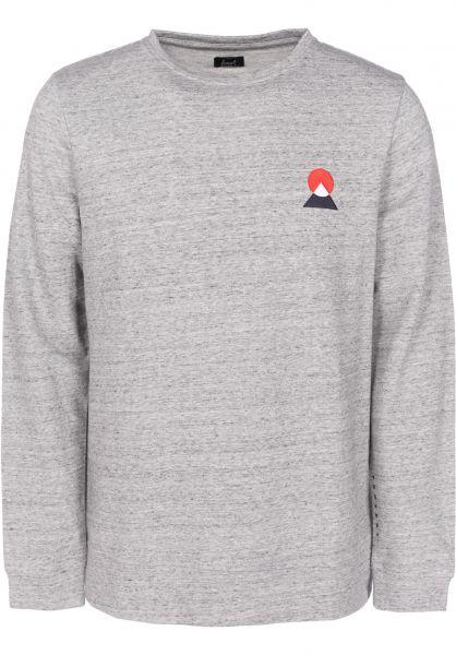 Forvert Sweatshirts und Pullover Turku greymelange Vorderansicht 0422461