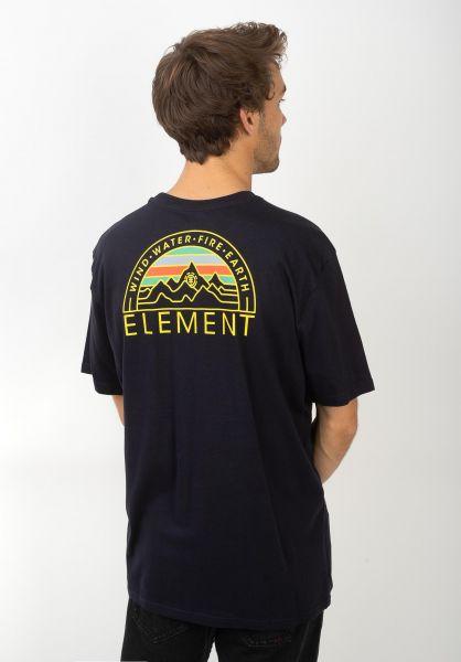 Element T-Shirts Odyssey eclipsenavy vorderansicht 0320487
