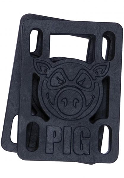 Pig Riserpads 1/8-Soft-Riser black vorderansicht 0015445