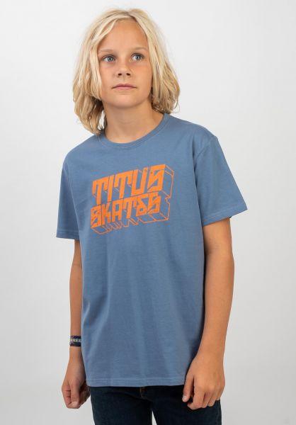 TITUS T-Shirts Emilis Kids infinity vorderansicht 0399266