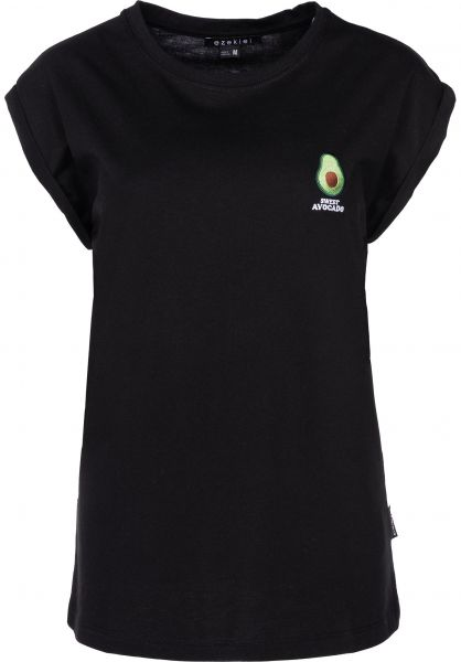 Ezekiel T-Shirts Avocado black vorderansicht 0398625