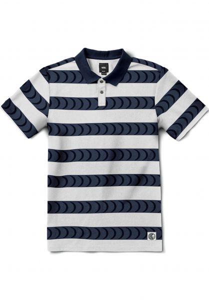 Vans Polo-Shirts Vans x Spitfire Polo white-dressblues Vorderansicht