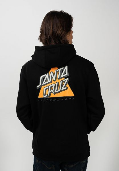 Santa-Cruz Hoodies Not A Dot black vorderansicht 0445760