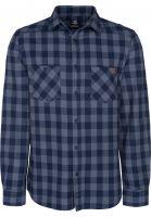 TITUS Hemden langarm Adam Light navy-grey-checked Vorderansicht