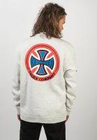 independent-sweatshirts-und-pullover-o-g-t-c-crew-athleticheather-vorderansicht-0422769