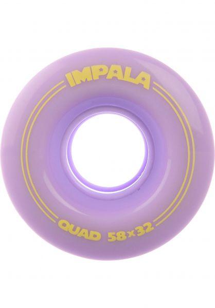 Impala Alle Schuhe Replacement Wheels 4Pk pastel-lilac vorderansicht 0640092