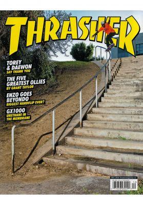 Thrasher Magazine Issues 2018