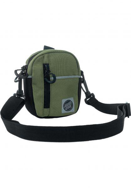 Santa-Cruz Taschen Connect Shoulder Bag military vorderansicht 0891582