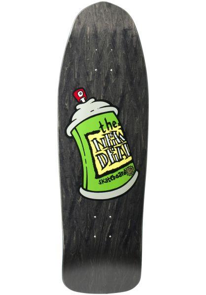 New-Deal Skateboard Decks Spray Can Screenprint black vorderansicht 0262732