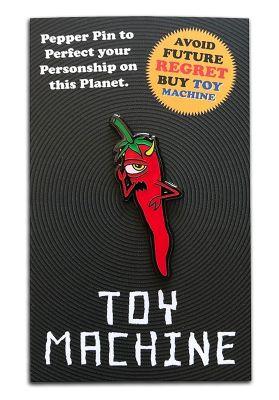 Toy-Machine Pepper Lapel Pin