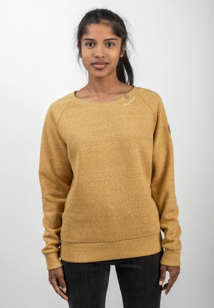 Ragwear Sweatshirts und Pullover Johanka yellow vorderansicht 0422742