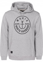 Makia-Hoodies-Crown-grey-Vorderansicht