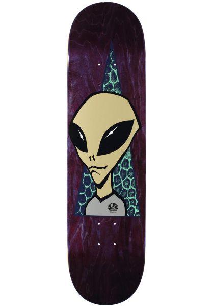 Alien-Workshop Skateboard Decks Visitor 2 natural vorderansicht 0262270