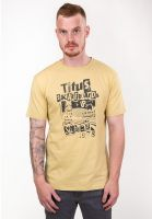 TITUS T-Shirts Collage faded-yellow Vorderansicht 0397377
