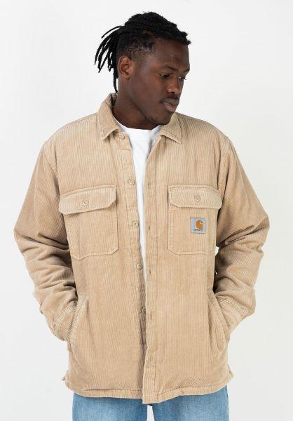 Carhartt WIP Übergangsjacken Whitsome Shirt Jac wall vorderansicht 0411945
