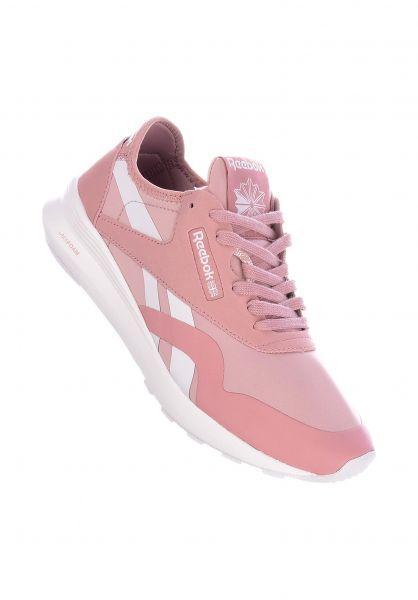Reebok Alle Schuhe CL Nylon SP cleansmokyrose-white vorderansicht 0612495