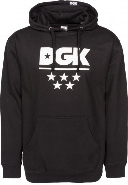DGK Hoodies All Star black Vorderansicht