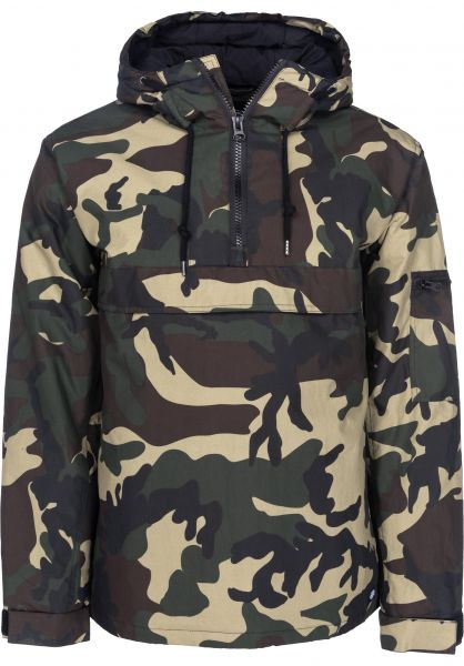 Dickies Winterjacken Belspring camouflage Vorderansicht